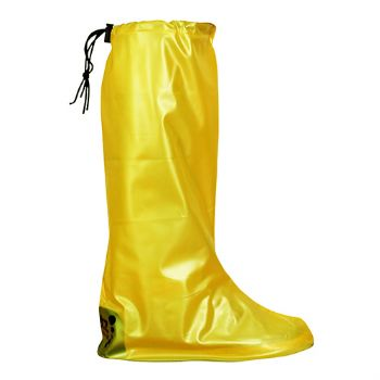 Yellow Pocket Festival Wellies - M (UK 6-8)
